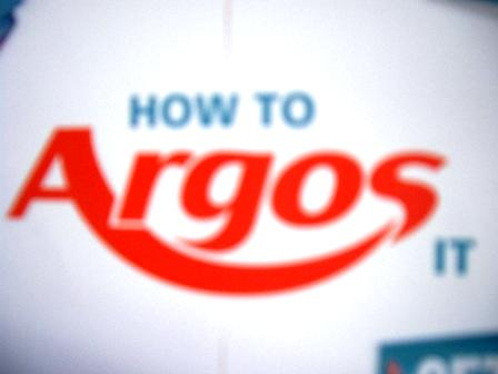 Argos Application Form