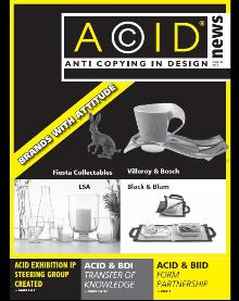 Cover of ACID newsletter Issue 38